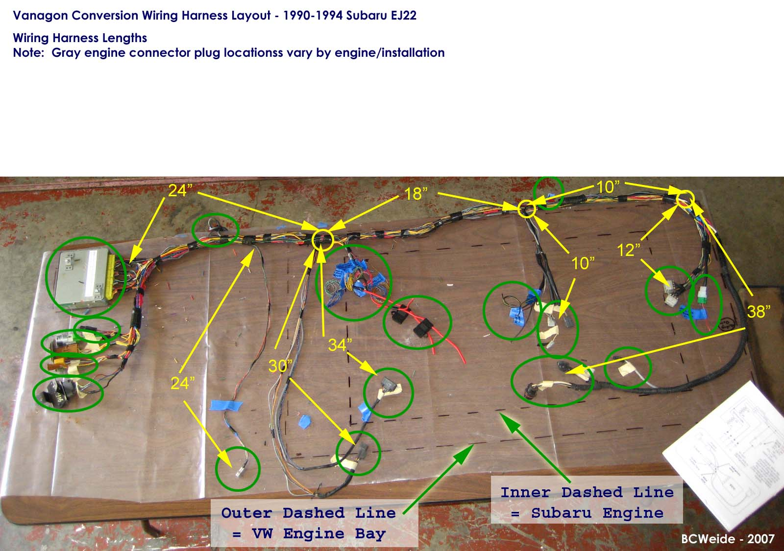 Vanagon Subaru Conversion Wiring Diagrams Starting Know About Engine Harness 29 Diagram Images